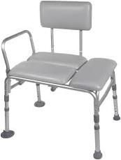 Padded Seat Transfer Bench 27.5 inchesONLY 1 LEFT IN STOCK