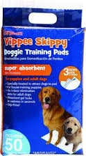 Sergeant's Yippee Skippy Dog Training Pads- 50ct