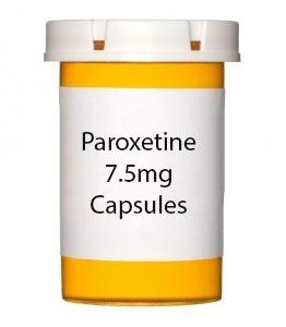 Paroxetine 7.5mg Capsules