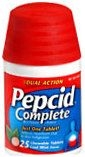 Pepcid Complete Chewable Tablets Cool Mint Flavor 25ct - DISCONTINUED by MANUFACTURER