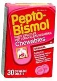 Pepto Bismol Cherry Chewable 30ct