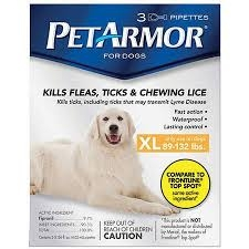 PetArmor Flea & Tick Protection for Dogs 89-132lbs, 3ct