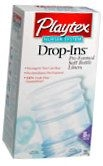 Playtex Drop-Ins Bottle Liners 8-Ounce - 50