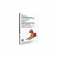 VetriShield Plus Flavored Chewable Tablets For Dogs 51 - 100 Pounds (Brown)- 6 doses