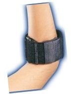 Pneugel Tennis Elbow Support Black Universal-Bell Horn