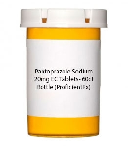 Pantoprazole Sodium 20mg EC Tablets- 60ct Bottle
