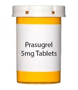 Prasugrel 5mg Tablets- 30ct Bottle