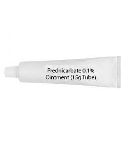 Prednicarbate 0.1% Ointment (15g Tube)