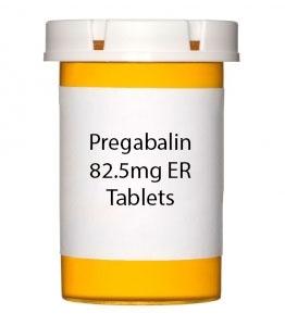Pregabalin 82.5mg ER Tablets