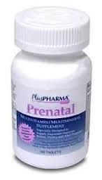 Prenatal Multivitamin Supplement - 100 Tablets