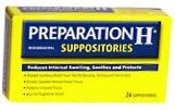 Preparation H Suppositories 24 ct