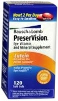 PreserVision Eye Vitamin and Mineral Supplement with Lutein Soft Gels 120ct