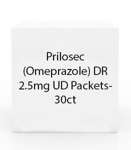 Prilosec (Omeprazole) DR 2.5mg UD Packets- 30ct