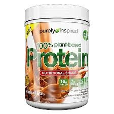 Purely Inspired 100% Plant-Based Protein Nutritional Shake Chocolate - 24 oz