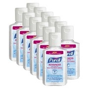PURELL Advanced Original Hand Sanitizer- 12- 1oz Bottles
