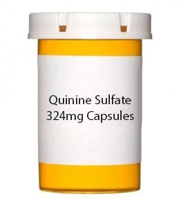 Quinine Sulfate 324mg Capsules