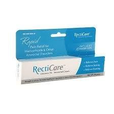 RectiCare Plus (Lidocaine 5%) Anorectal Cream - 30g