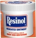 Resinol Topical Analgesic/Skin Protectant Medicated Ointment 3.3 oz