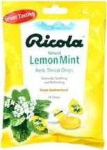Ricola C Drop Lemon Mint - 24 ct Bag