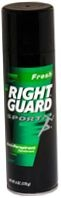 Right Guard Sport Aerosol Anti-Perspirant/Deodorant Fresh 10 oz