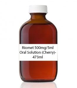 Riomet 500mg/5ml Oral Solution (Cherry)- 473ml
