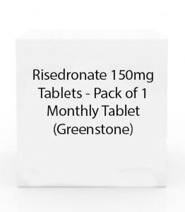 Risedronate 150mg Tablets - Pack of 1 Monthly Tablet (Greenstone)