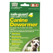 Safe-Guard Canine 22.2%- 3- 1g Doses