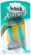 Schick Extreme 3 Disposable Razor 4ct