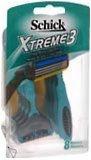 Schick Xtreme 3 Razors 8-Pack - 8