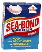 Sea Bond Denture Adhesive Upper -15ct