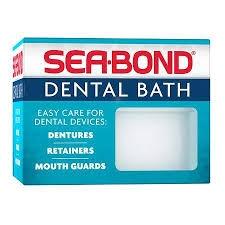 Sea-Bond Dental Bath - 1ct