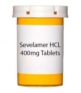Sevelamer HCL 400mg Tablets