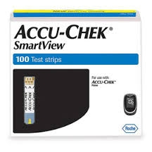 Accu-chek Smartview Test Strip- 100ct