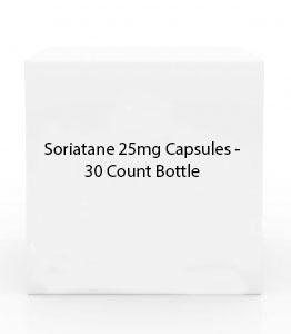 Soriatane 25mg Capsules - 30 Count Bottle