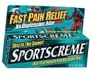 Sportscreme Deep Penetrating Pain Relieving Rub 3oz