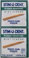Stim-U-Dent Mint - 100
