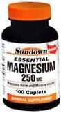 Sundown Magnesium 250 mg Caplets - 100