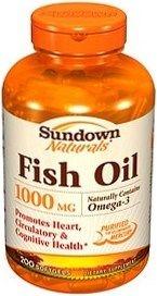 Sundown Naturals Fish Oil - 200 Softgels