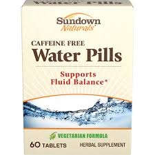 Sundown Natural Water Pill - 60ct