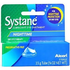 Systane Nighttime Lubricant Eye Ointment-3.5g  Production Problems should be available 01/02/2018