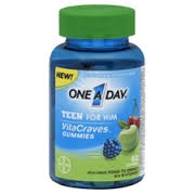 One A Day® VitaCraves® Teen For Him Gummies- 60ct