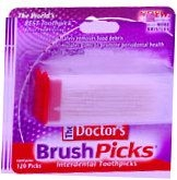 The Doctors BrushPicks  120ct