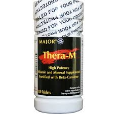 Thera-M Plus Tablets (Major)  -100ct