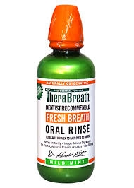 Therabreath Fresh Breath Oral Rinse Liquid- 16oz