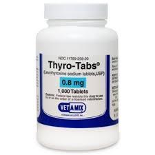 Thyro-Tabs (Levothyroxine) 0.8 mg