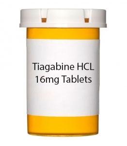 Tiagabine HCL 16mg Tablets
