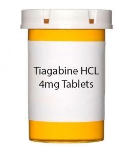 Tiagabine HCL 4mg Tablets