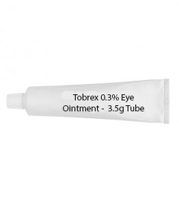 Tobrex 0.3% Eye Ointment -  3.5g Tube