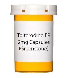Tolterodine ER 2mg Capsules (Greenstone)