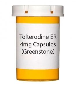 Tolterodine ER 4mg Capsules (Greenstone)